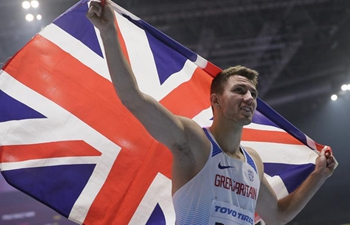 Andrew Pozzi claims title of men's 60m hurdles at IAAF World Indoor Championships