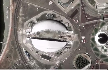 Amazing bird's-eye view of FIFA World Cup 2018 stadiums