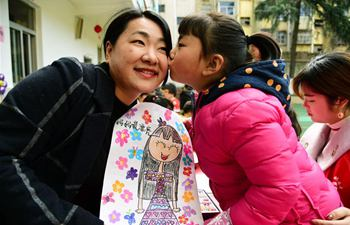 Activity held ahead of Int'l Women's Day in China's Jiangsu