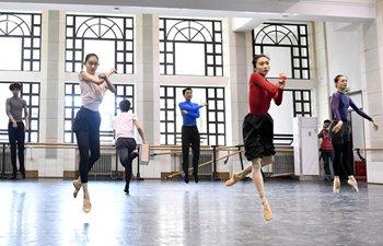Dancers rehearse for Ballet Workshop Evening 2018 in Beijing