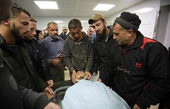 Israeli soldiers' gunfire kills Palestinian Near Nablus: medics
