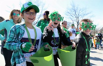 St. Patrick's Day Parade held in Chicago