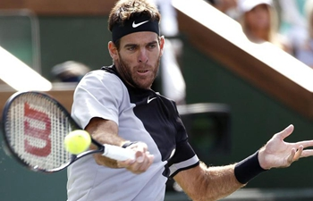 Del Potro crowned at BNP Paribas Open with victory over Federer