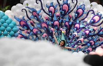 """Fantasy Zoo Balloon Fair"" held at Singapore's Marina Square"