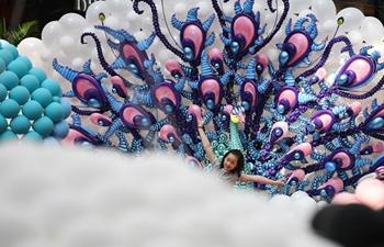 """Fantasy Zoo Balloon Fair"" held at Singapore's Marina Square"