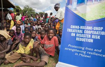 China hands over disaster risk reduction projects to Malawi communities