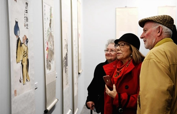 Artworks of Chinese artist Qi Baishi exhibited in Malaga, Spain