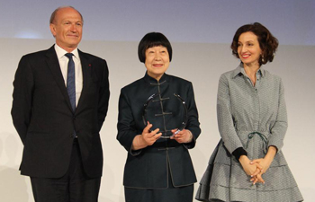 Chinese scientist honored with L'Oreal-UNESCO for Women in Science Awards