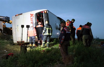 4 dead, 37 injured in bus accident in central Turkey