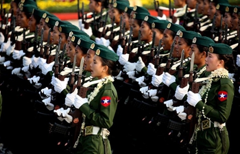 Myanmar holds military parade to mark 73rd Armed Forces Day, calling for peace