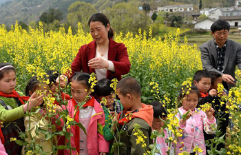 In pics: teachers in remote mountainous area in NW China