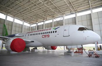 C919's second prototype plane to fly in April