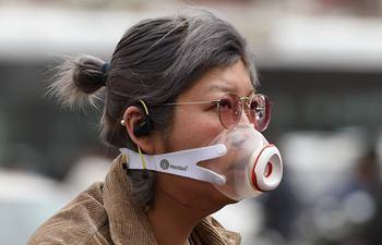 Beijing sees dust, smog weather