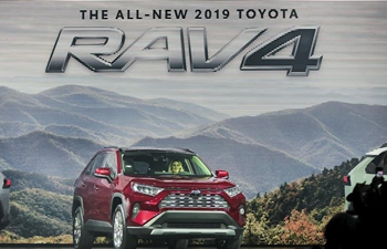 All-new 2019 Toyota RAV4 makes debut in New York
