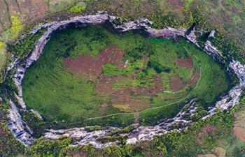 Altogether six sinkholes found in southwest China