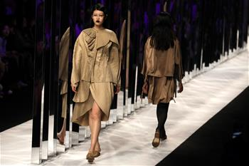 Highlights of Shanghai Fashion Week in east China