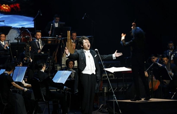 """Chinese traditional orchestra performance """"Enchanting China"""" held in LA"""