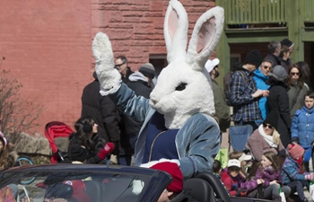 Easter parade held in Toronto