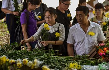 Memorial event for body and organ donors held in Shenzhen