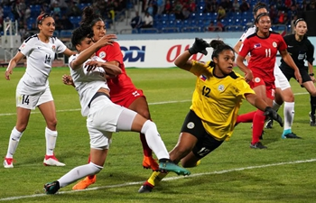 Jordan, Philippines compete at 2018 AFC Women's Asian Cup in Amman, Jordan