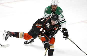 Anaheim Ducks beats Dallas Stars 5-3 in NHL hockey game