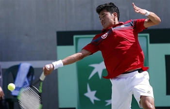 China's Hong Kong, Lebanon competes at Davis Cup in Beirut