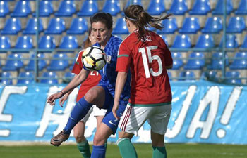 Hungary beats Croatia in qualifying match for 2019 FIFA Women's World Cup
