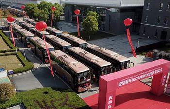 Chinese auto company Ankai exports buses to Saudi Arabia
