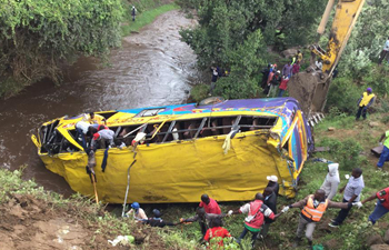 17 killed, 46 injured in road accident in southwest Kenya