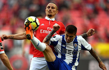 Porto wins Benfica 1-0 at Portuguese League