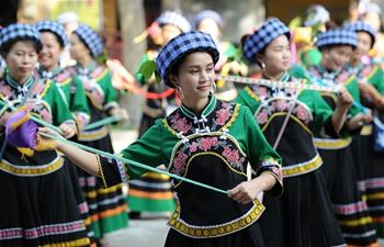 """Sanyuesan"" festival celebrated across China"