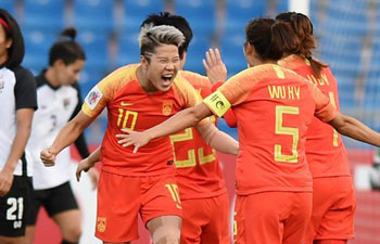 China beats Thailand to get bronze of AFC Women's Asian Cup