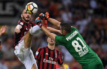 Serie A: Benevento beats AC Milan 1-0