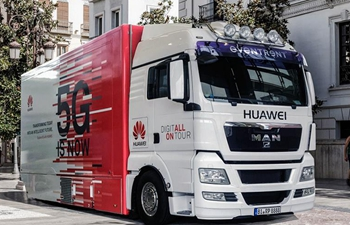 Huawei 5G truck roadshow arrives in Madrid with Spain top 5G priority market