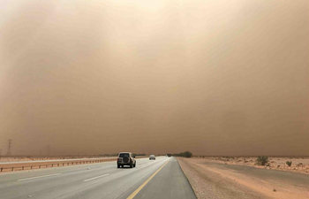 Many parts of Saudi Arabia attacked by sandstorm