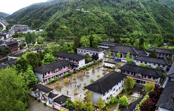 10 years of reconstruction after earthquake in China's Shaanxi