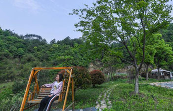 Rural living environment improved in east China's Zhejiang