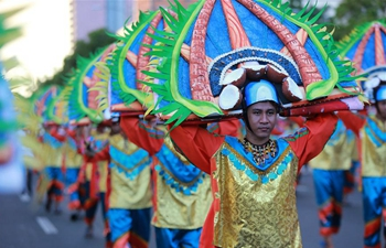 Aliwan Fiesta held in Manila, the Philippines