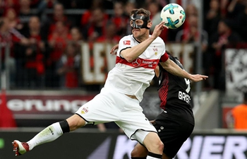 Stuttgart down Leverkusen 1-0 in German Bundesliga
