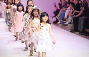 Creations of Starry Wish presented during fashion show in Shanghai