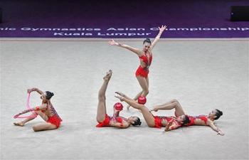 Highlights of 2018 Rhythmic Gymnastics Asian Championships in Kuala Lumpur
