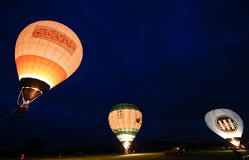 Hot-Air Balloon Rally 2018 held in Zabok, Croatia