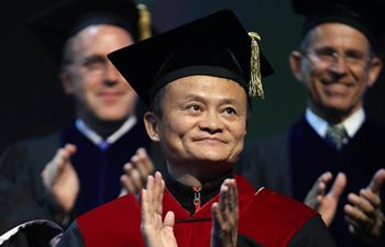 Jack Ma receives honorable doctoral degree at Tel Aviv University in Israel