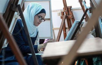 "Palestinian artists take part in exhibition called ""We Draw for Return"""