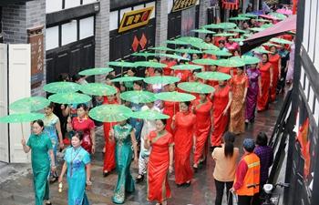 Cheongsam cultural festival held in E China's Anhui