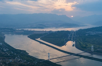 Water level of Three Gorges Reservoir falls before flood season