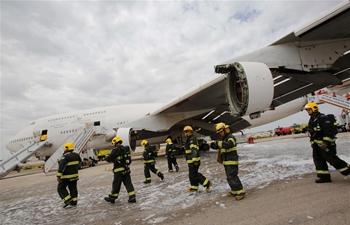 """Pelican"" emergency drill held at Israeli airport"