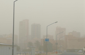 Heavy sand storm engulfs Hawalli Governorate of Kuwait