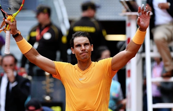 Rafael Nadal beats Gael Monfils 2-0 at Madrid Open Tennis tournament