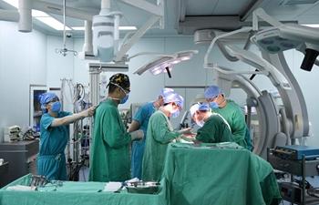 Nurses work ahead of Int'l Nurses Day in Beijing